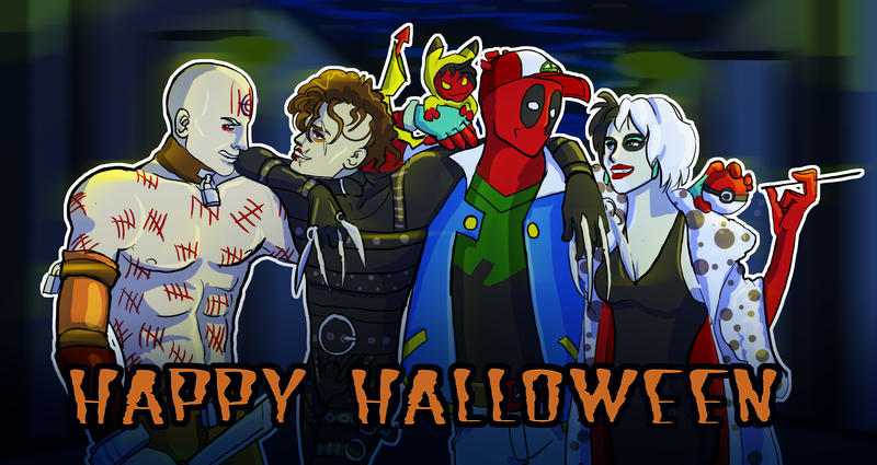 Happy Halloween by KittiNygma