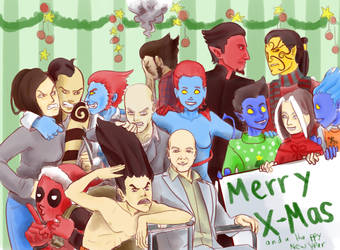 Merry X-Mas! from The Wagners by LauraFMeis