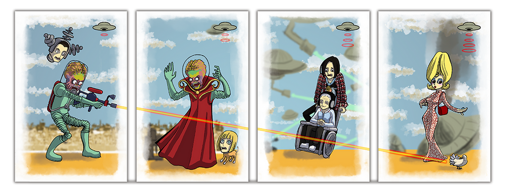 Mars Attacks! by LauraFMeis