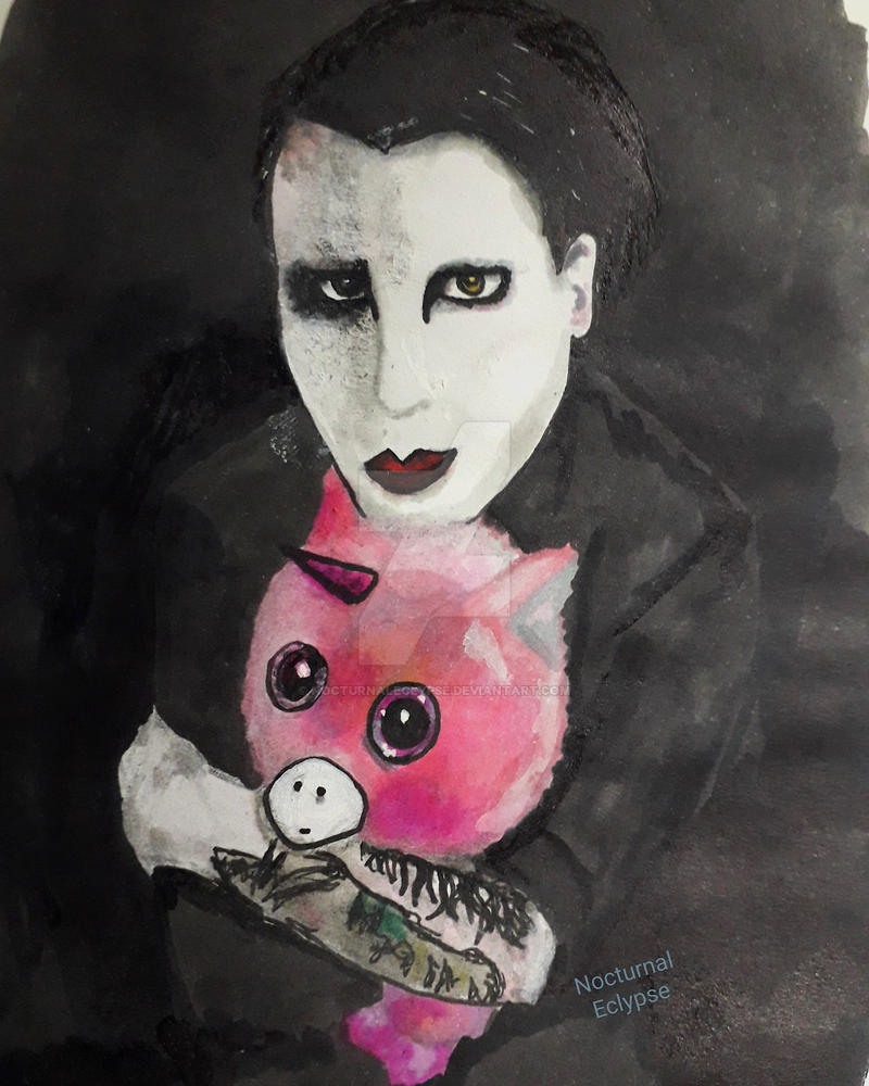 Precious (Marilyn Manson) by nocturnaleclypse