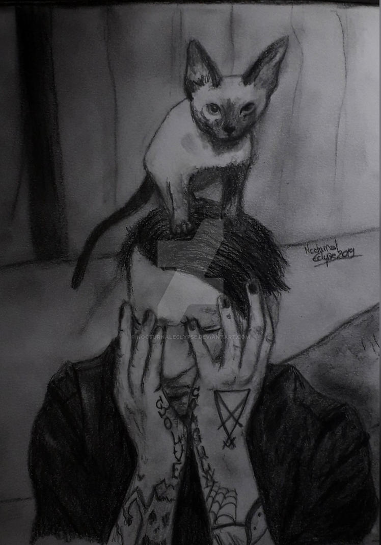Cat Daddy (Marilyn Manson) by nocturnaleclypse