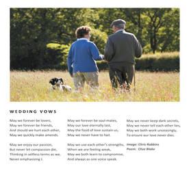 Wedding Vows  -Wedding Poem  -Wedding Poetry by CliveBlake