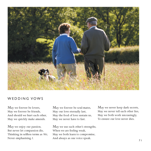 Wedding Vows  -Wedding Poem  -Wedding Poetry by CliveBlake