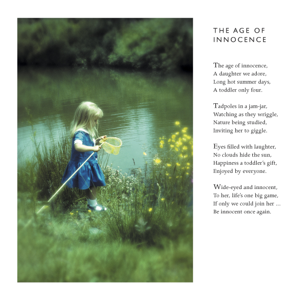 The Age Of Innocence -by Cornish Poet Clive Blake by CliveBlake
