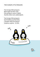 Penguin Poem: Two Hungry Little Penguins 01 by CliveBlake