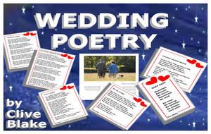 Wedding Poetry 01B -Wedding poems by Clive Blake by CliveBlake