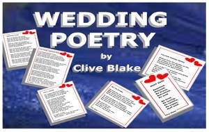 Wedding Poetry 02B -Wedding poems by Clive Blake by CliveBlake