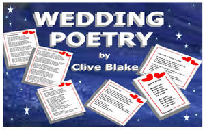 Wedding Poetry 02C -Wedding poems by Clive Blake by CliveBlake
