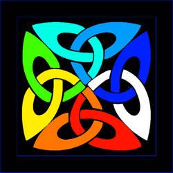 Celtic Art 01d by Cornish Poet Clive Blake -Kernow by CliveBlake