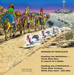 Christmas Poem -Wisdom In Triplicate -Humorous by CliveBlake