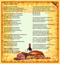 Christmas Poem -Christmas Family Dinner -Humour by CliveBlake