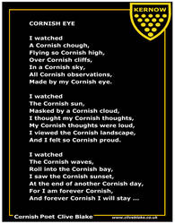 Poem of Cornwall 07b -Cornish Eye -Cornish Poem by CliveBlake