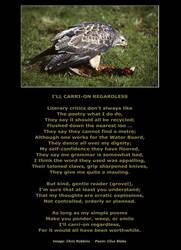 Poem -I'll Carri-On Regardless 02 Inner border b by CliveBlake