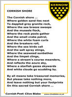 Poem of Cornwall 14a -Cornish Shore -Cornish Poet  by CliveBlake