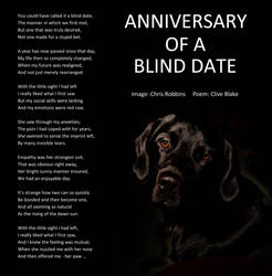 Anniversary Of A Blind Date -Clive Blake poetry -C
