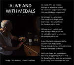 Remembrance Poem - Alive And With Medals +bord by CliveBlake