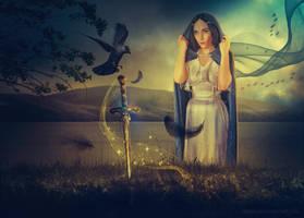 Magic sword by VitaShuba