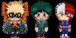 Three Heroes by spacestarphish