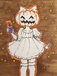 Happy Pumpkin  by KoalaRye