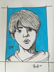 Jin fan art  by KoalaRye