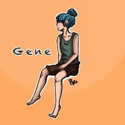 Gene (my OC)  by KoalaRye