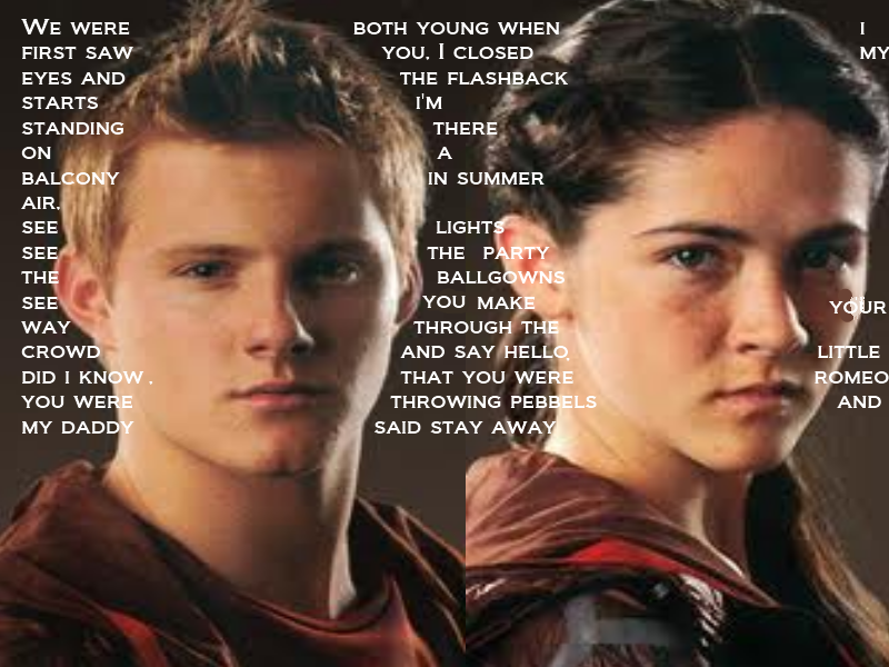 Cato and clove ~lovestory by Elly123456 on DeviantArt