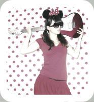 Minnie was a RockStar. by mademoiselle-N