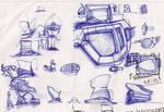 Blaadje Random Sketches