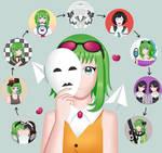 Gumi's 10th Anniversary by dulcecarmella