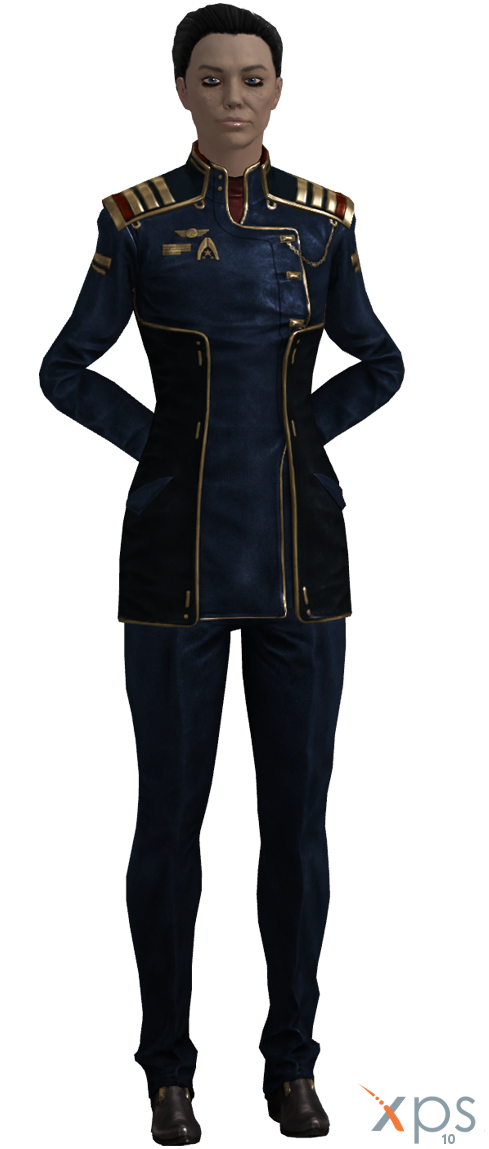 ME3 Rear Admiral Hannah Shepard (XPS) by SonYume