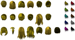 ME3 Female hair pack (XPS)