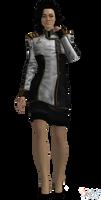 ME3 Miranda Cerberus Official Skirt (XPS)