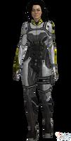 ME3 Miranda Shade Armor (XPS) by SonYume