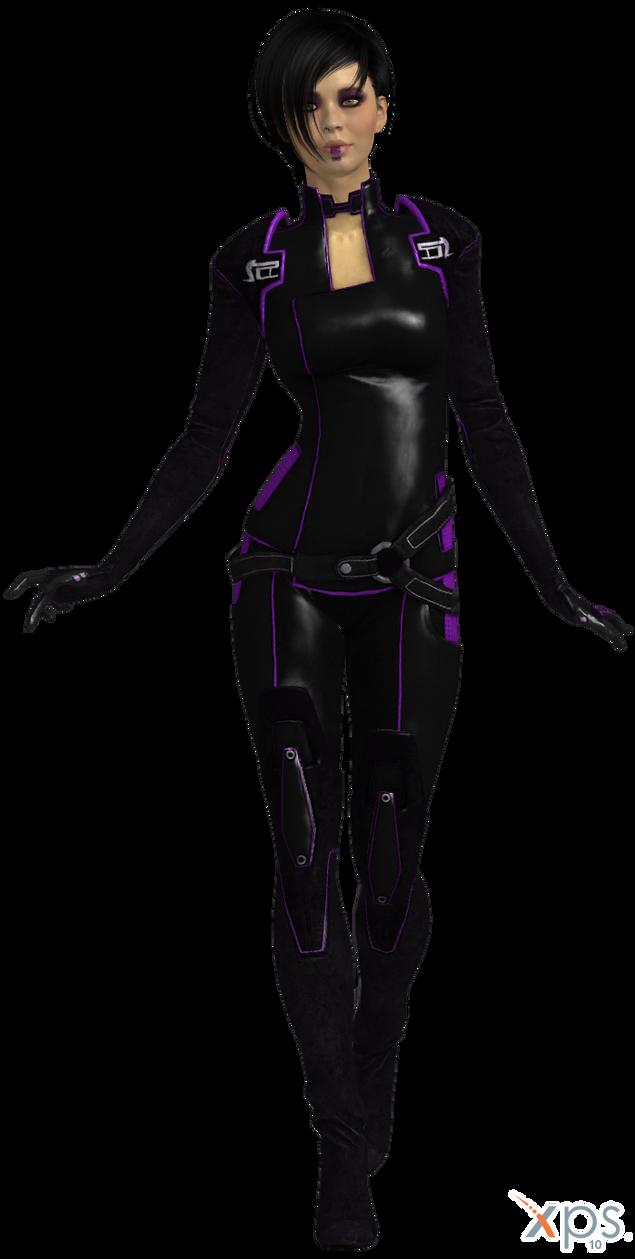 ME2 Kasumi Miranda's Outfit (XPS) by SonYume