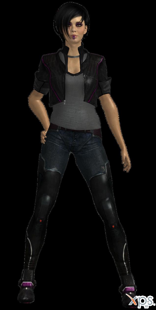 ME3 Kasumi Nilin's Outfit (XPS) by SonYume
