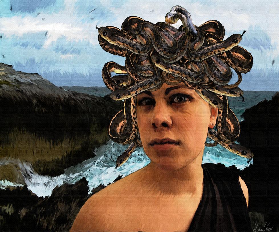 Medusa by Katcat89