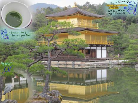 Japan Trip - Day 1: Kinkaku-ji