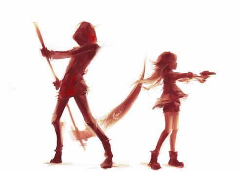 [Satsuriku no tenshi] Together.