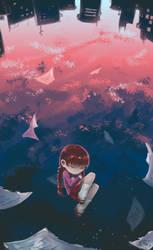[Yume Nikki] Free fall.