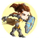 [Overwatch] Brigitte (commission)