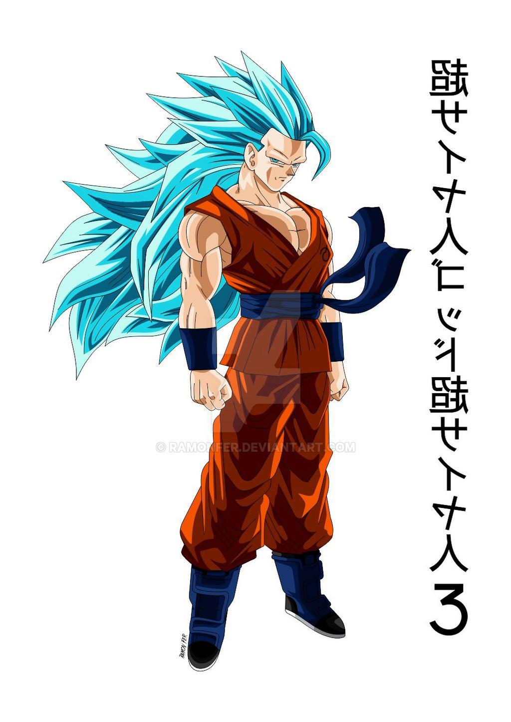 Goku super saiyan god super saiyan 3 by ramonfer on deviantart - Sangoku super saiyan god ...