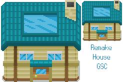 New Bark Town House Tile V2 by NSora-96