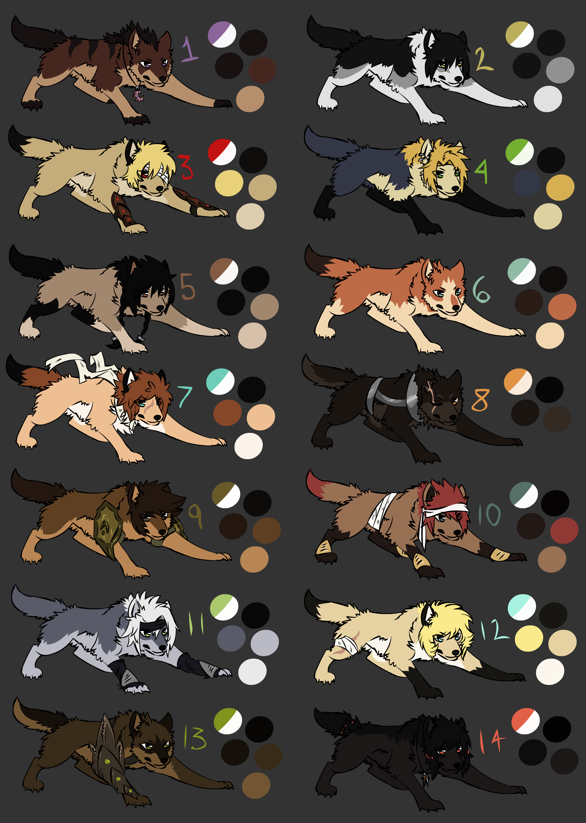 Amazing Warrior Anime Adorable Dog - dog_mutt_wolves_adoptables_by_my_lonely_wolf-d3lj12r  Graphic_835847  .png