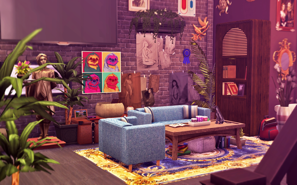 Sims  Rooms