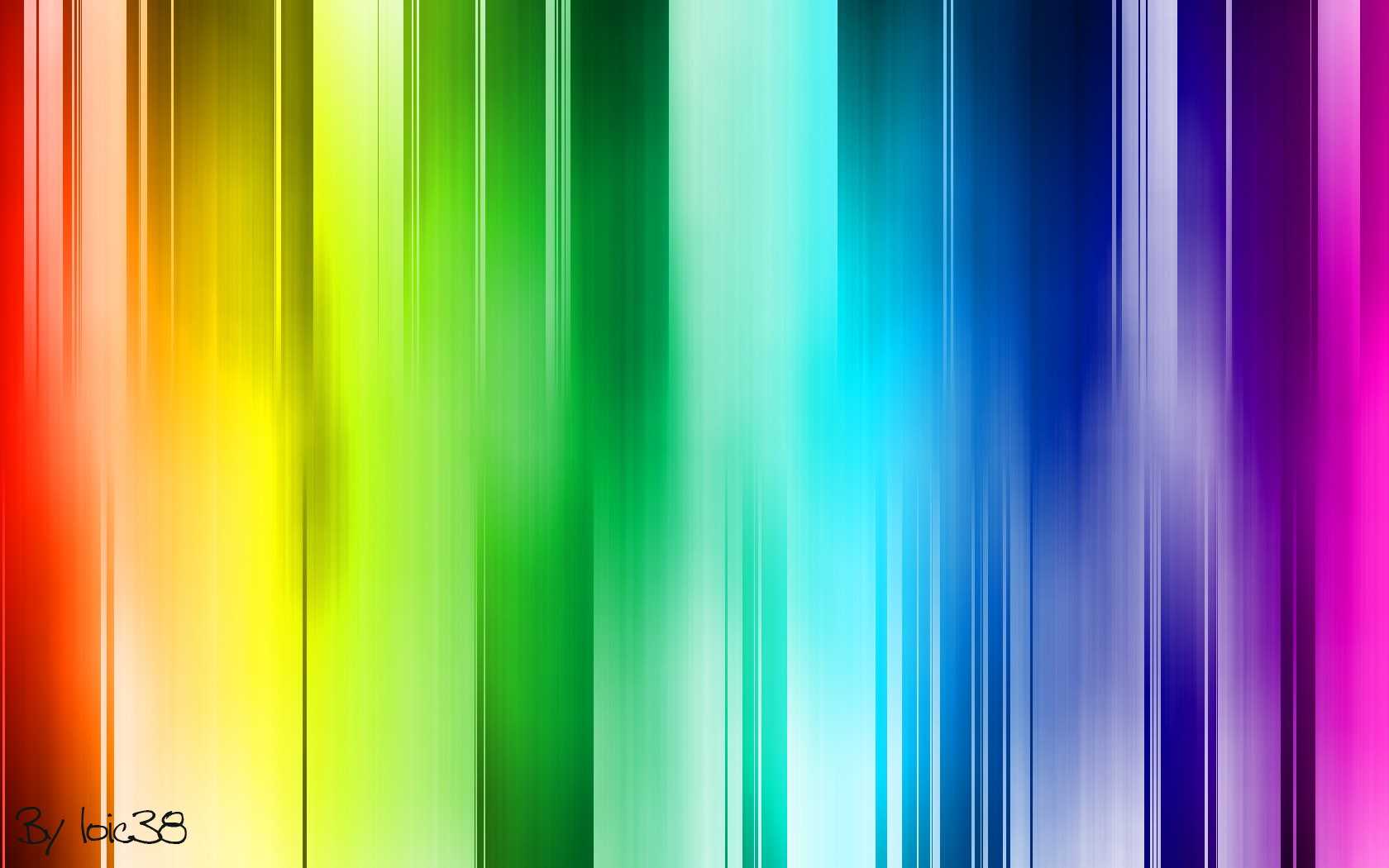 Abstract Background of Colored Bars by kayller77