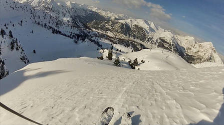 Alone in the Powder