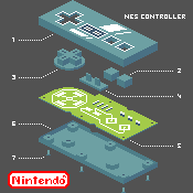 NES Controller by Unlimited--power