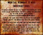 Mortal Kombat X transferring mod files