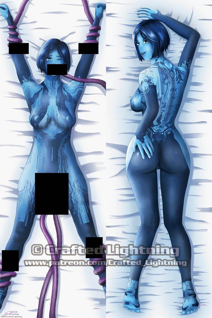 Dakimakura-Halo-Cortana V3 (censored) by CraftedLightning