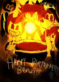 Happy Birthday Bendy